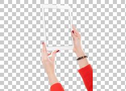 iPad空气女人手势电脑,手绘女孩PNG剪贴画杂项,手,计算机,人,女人图片