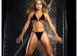 Stacy Keibler,比基尼泳装,ABS,女性,女人,美女,人物,金发582