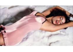 阿德里安娜利马,人物,腋下,女性,女人,美女,黑发,喷刷,闭着眼睛58