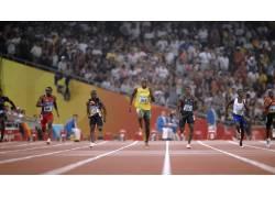 博尔特,赛跑43445图片