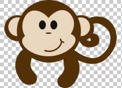 灵长类动物哺乳动物,小猴子PNG剪贴画杂项,食肉动物,其他,脊椎动图片