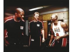 美国,NBA,篮球,拉里伯德,魔术师约翰逊,迈克尔・乔丹,巴塞罗那,西图片