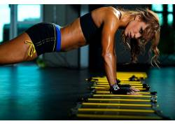 锻炼,枯瘦,体育,健身人物,看着观众,女性,女人,美女,人物4011