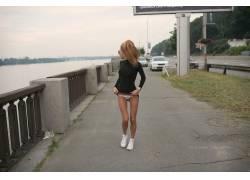 俄语,俄罗斯女性,女人,美女,枯瘦,金发,上市,衩,亚历山大・蒂霍米