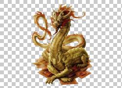 中国龙传说中的生物神话幻想,龙,黄色和橙色龙图PNG剪贴画龙,卡通图片