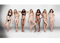 怀特利,女用贴身内衣裤,金发,乌木,黑发,女性,女人,美女,坎蒂丝・