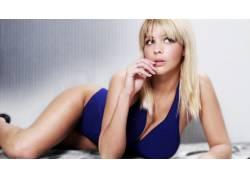 杰玛阿特金森,金发,胸部,女性,女人,美女,人物,抬头看40743