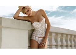 金发,女用贴身内衣裤,女性,女人,美女,人物,裤子,胸部,戒指41216