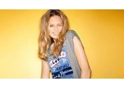 罗梅斯特瑞德,金发,蓝眼睛,人物,荷兰,简单的背景,模特,美女36792