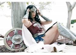 女性,女人,美女,角色扮演,梅根玛丽,神奇女侠,幻想女孩,战士12373