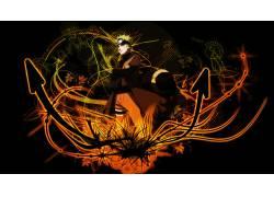 动漫,火影忍者疾风传,漩涡鸣人,艺术,箭头,动漫男孩,动漫6691图片