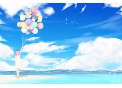 动漫,火影忍者疾风传,动漫,春野樱,云,鸟类,气球,动漫女孩,宇智波图片