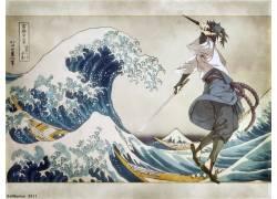 动漫,火影忍者疾风传,宇智波佐助,神奈川的大波浪47008图片
