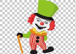 小丑万圣节,万圣节小丑PNG剪贴画万圣节快乐,食品,卡通,虚构人物,图片
