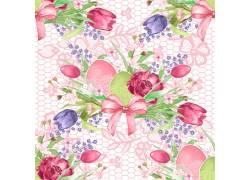 鲜花背景素材