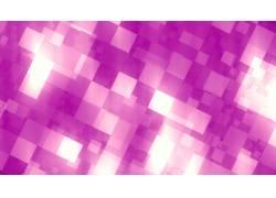 紫红色像素格抽象背景