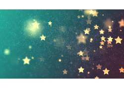 五角星光斑背景