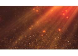 红色光线抽象背景