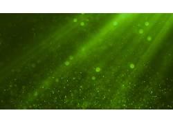 绿色光线抽象背景