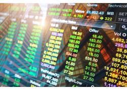 股市行情摄影图