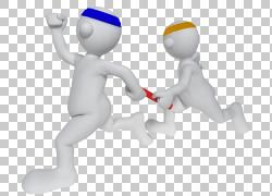 坚持人运行接力赛跑,接力赛PNG剪贴画游戏,3D计算机图形学,运动,图片