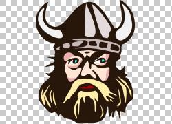 明尼苏达维京人的内容,Viking Graphics PNG剪贴画头,卡通,虚构人图片