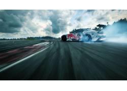 漂移,抽烟,汽车,体育,赛跑,马自达RX-7,马自达RX7,马自达,赛车,赛图片