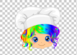 面包店蛋糕厨师烘烤,烹饪PNG剪贴画脸,烘烤,烹饪,头,卡通,虚构人图片