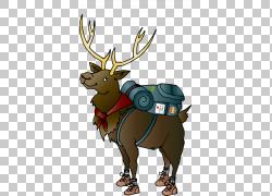 麋鹿鹿麋鹿,鹿PNG剪贴画鹿茸,哺乳动物,动物,脊椎动物,社交媒体营图片