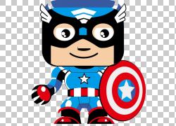 美国队长钢铁侠克拉克肯特卡通超级英雄,英雄联盟PNG剪贴画复仇者图片