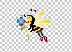 蜜蜂卡通,蜜蜂PNG剪贴画徽标,电脑壁纸,昆虫,虚构人物,女王蜂,蜜图片