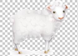 绵羊,卡通羊,白羊PNG剪贴画卡通人物,动物,卡通武器,牛山羊家庭,图片