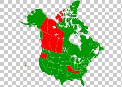 美国加拿大空白地图,交通灯PNG剪贴画加拿大,演示文稿,草,美国,路图片