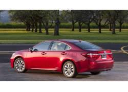 雷克萨斯ES300h,雷克萨斯,红色的汽车,汽车,车辆47587图片