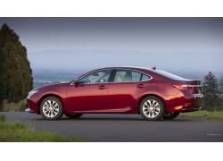 雷克萨斯ES300h,雷克萨斯,红色的汽车,车辆47593图片