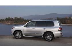 雷克萨斯VX570,银色汽车,车辆,汽车,雷克萨斯47696图片