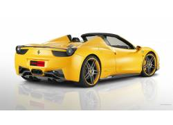 法拉利458,超级跑车,法拉利,黄色的汽车,汽车,车辆46739图片