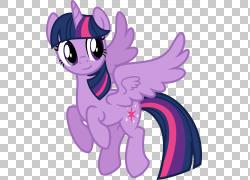 暮光之城闪耀我的小马驹Rarity Winged独角兽,闪耀的PNG剪贴画马,图片