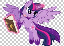 暮光之城闪耀彩虹短跑稀有我的小马驹,暮光之城PNG剪贴画马,紫色,图片