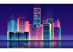 繁华城市夜景