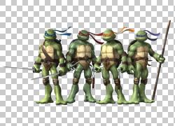 忍者神龟电影漫画,Ninja PNG剪贴画虚构人物,卡通,少女突变忍者龟图片