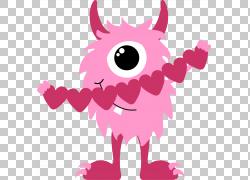情人节心脏科学怪人,可爱的猫头鹰PNG剪贴画爱,哺乳动物,食肉动物图片