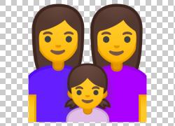 表情符号电影笑脸家庭女人,表情符号PNG剪贴画紫色,孩子,脸,头,笑图片