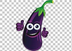 水果茄子蔬菜,微笑茄子PNG剪贴画紫色,食品,紫罗兰色,虚构人物,卡图片