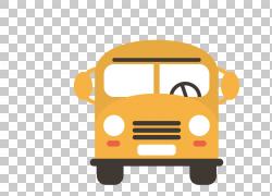 校车出租车校车,卡通巴士PNG剪贴画卡通人物,漫画,运输,巴士,图片