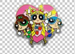水手Senshi视觉艺术,粉扑女孩PNG剪贴画爱,其他,虚构人物,卡通,水图片