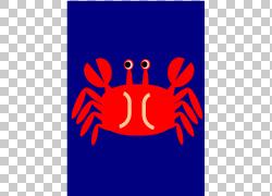 蟹肉切萨皮克蓝蟹,蟹PNG剪贴画文本,橙色,标志,电脑壁纸,虚构人物图片