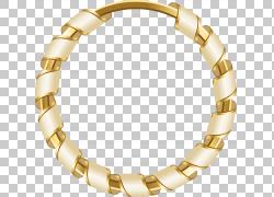 圆形,卡通金色圆圈,金色手链PNG剪贴画卡通人物,金色框架,手链,圆图片