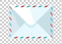 纸邮件卡通,卡通信封PNG剪贴画杂项,卡通人物,蓝色,角度,文本,矩