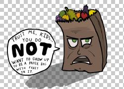 纸卡通,水果袋设计PNG剪贴画杂项,食品,徽标,其他,卡通,虚构人物,图片
